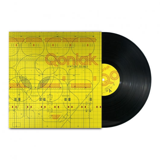 "Buy / Get Qoniak - Sentient Beings - 12"" LP & MP3 ALBUM"
