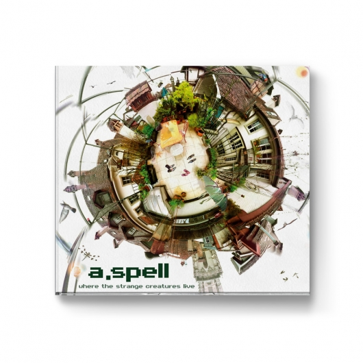 Buy / Get A.Spell - Where the strange creatures live - CD & MP3 ALBUM