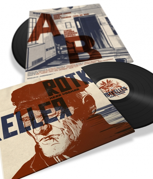 "Buy / Get Rotkeller - Herr Vodmar- 12"" LP & MP3 ALBUM"