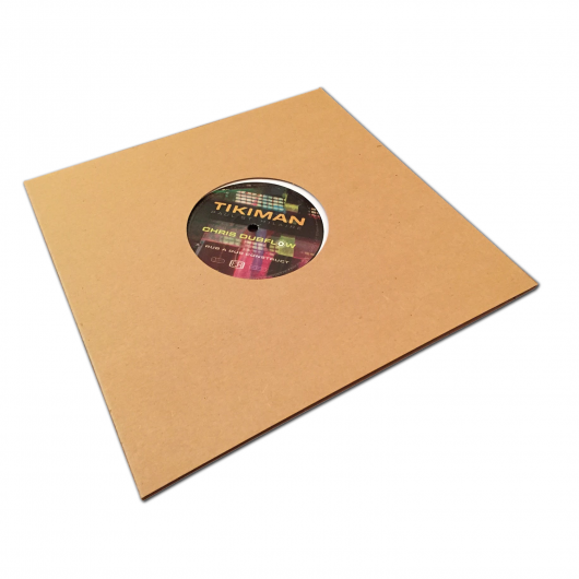 "Buy / Get Chris Dubflow - Rub A Dub Construct Feat. Tikiman - 10"" EP & MP3 SINGLE"