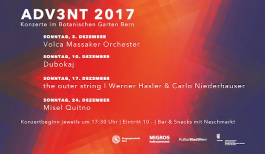 AdV3NT 2017 #3 – the outer string I Werner Hasler & Carlo Niederhauser ADV3NT 2017