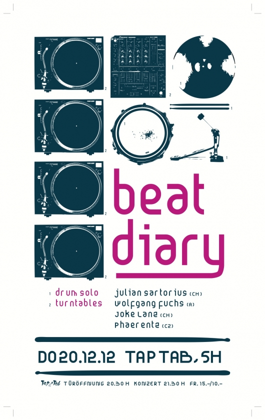 Beat Diary Release-Tour at Taptab