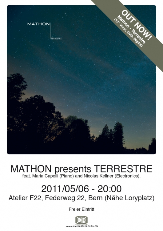 Mathon presents Terrestre / Record release