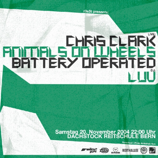 Chris Clark & Animals On Wheels & Battery Operated