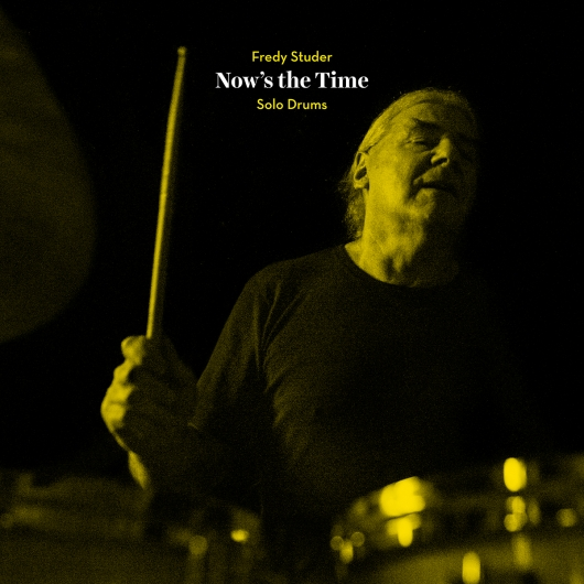 Release er_089 (Fredy Studer - Now's the Time) Fredy Studer - Now's the Time - Cover by Camillo Paravicini
