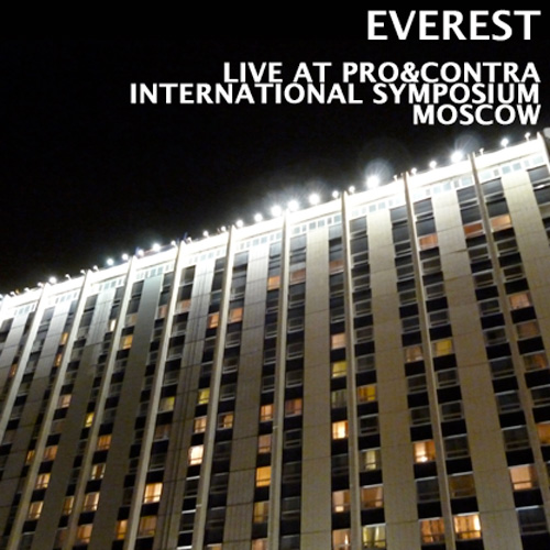 release Everest - Live At PRO&CONTRA International Symposium Moscow