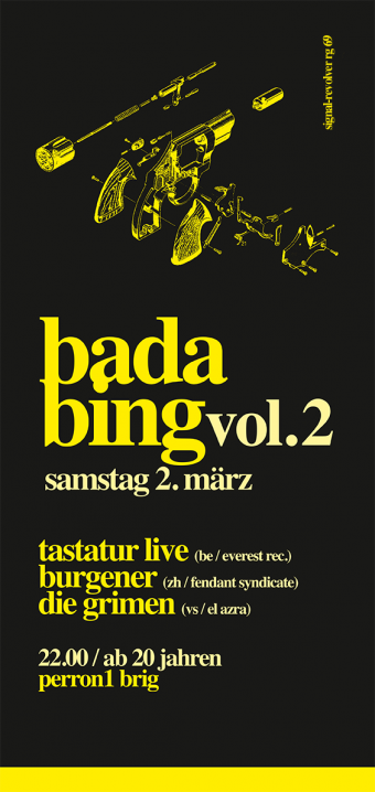 Tastatur at Bada Bing Vol.2