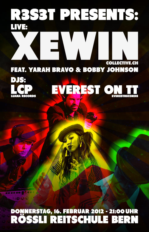 Xewin feat. Yarah Bravo & Bobby Johnson (COLLECTIVE.CH)
